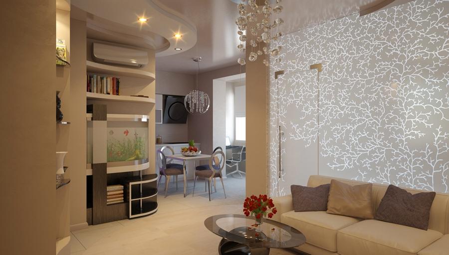 Дизайн трехкомнатной квартиры п44т Проект трешки п44т