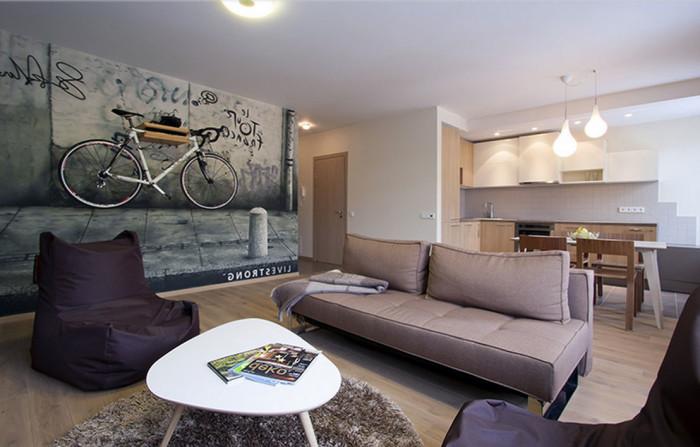 Панорама отделки квартиры